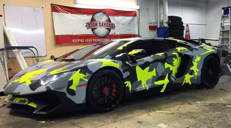 wrapping su lamborghini